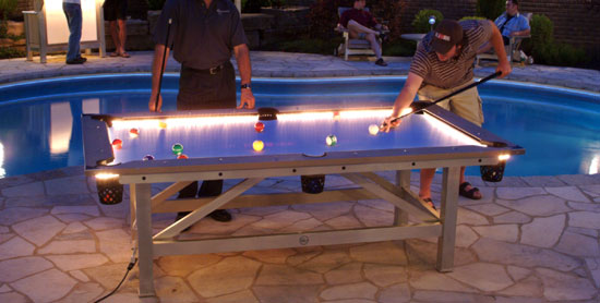 Outdoor Pool Table -2-1