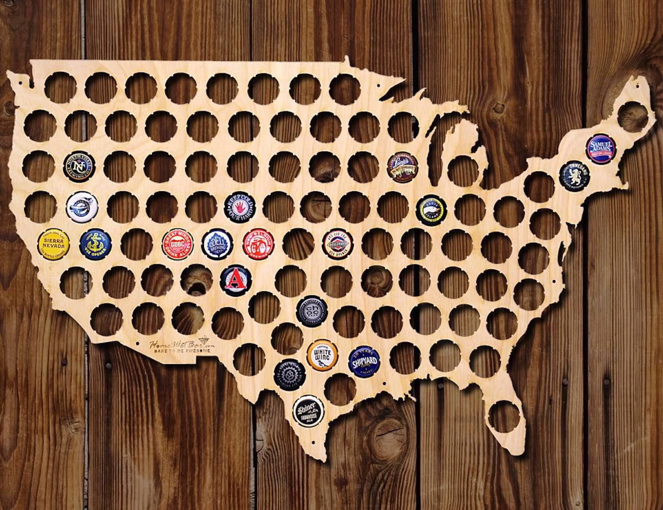 beer cap map 2