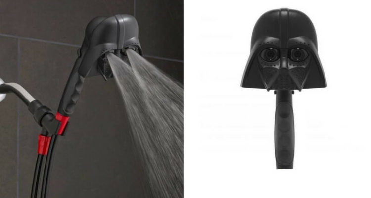 Darth Vader Shower Head You Always Wanted